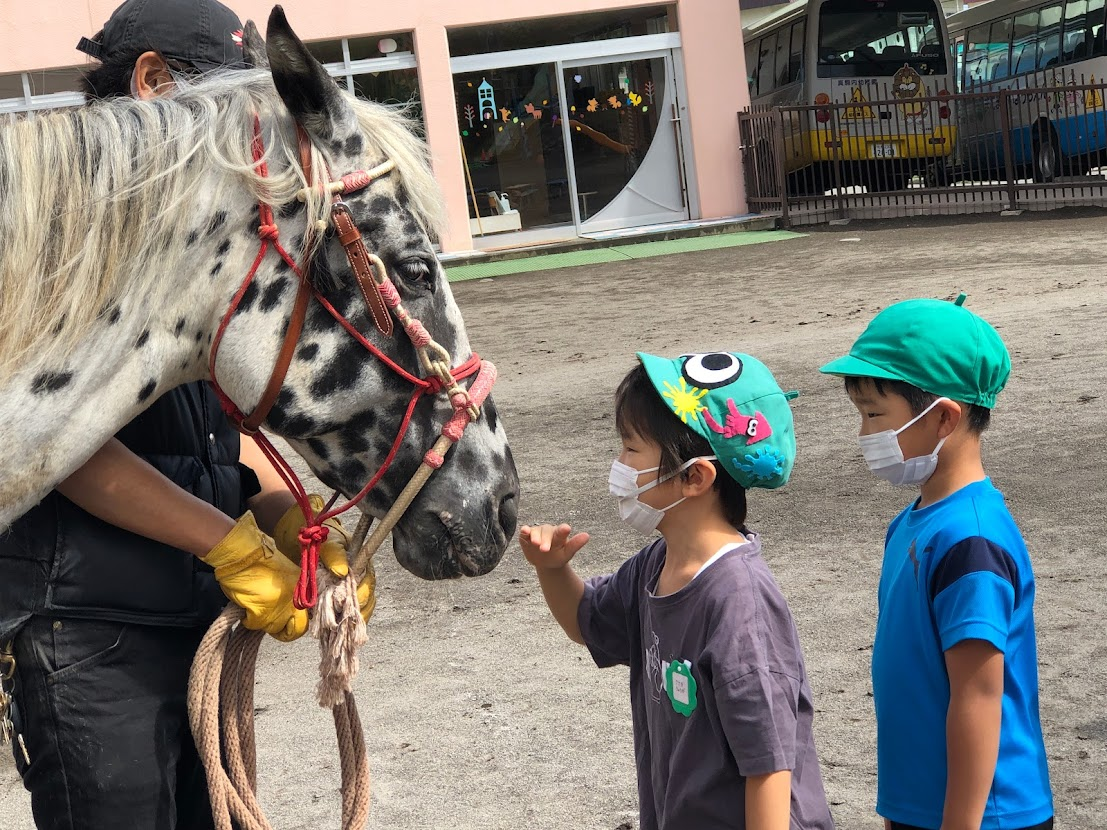乗馬体験(年長) 1